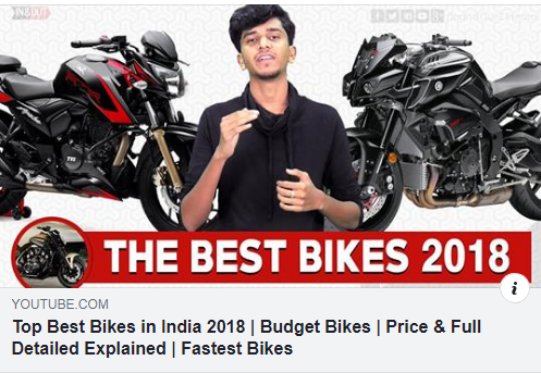 Top Best Bikes In India 2018 Budget Bikes Price Full