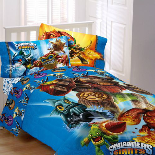 Skylanders Bedding Full Size With Images Twin Bed Sheets Bed