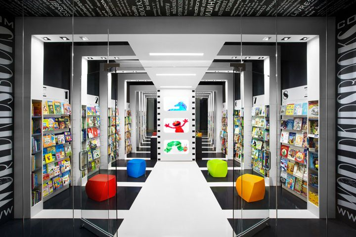 Pin By Interior Designer In A Box On Kids Teenager: World Kids Books Store By Red Box ID, Vancouver