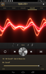 Mp3 player equalizer
