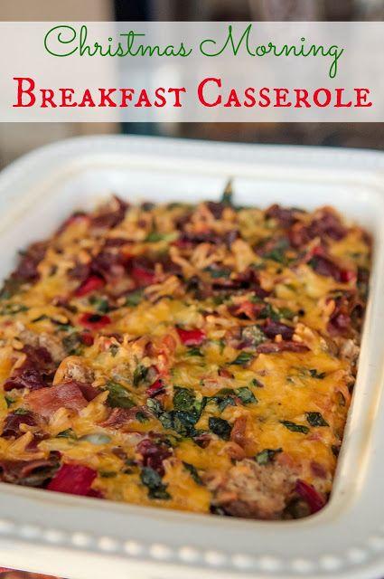 christmas morning breakfast casserole
