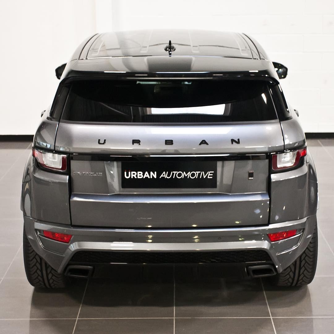 Urban Automotive On Instagram Bold Rear Diffuser Satin Black Tails Contrast Santorini Black Roof Grilled And Ve Range Rover Land Rover Land Rover Defender