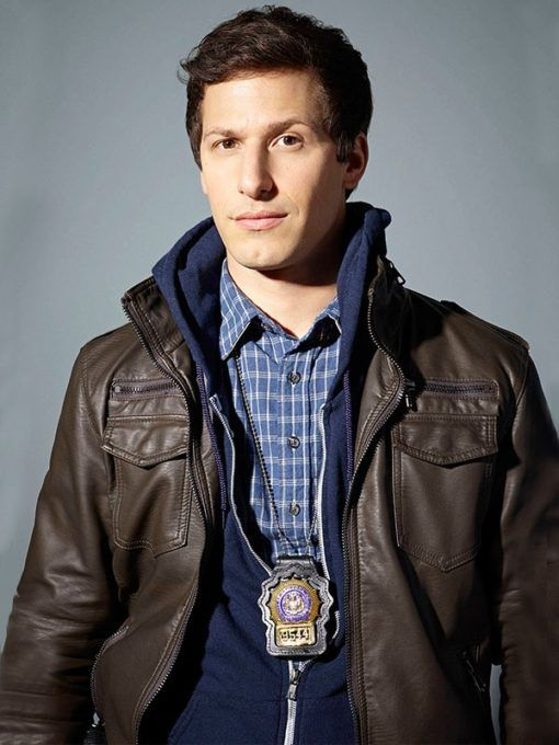The Brooklyn Nine Jake Peralta Black Jacket is an astounding garment made uncommonly for chic and smart gears. Grab this masterpiece now and waltz with your sassy style throughout the season!