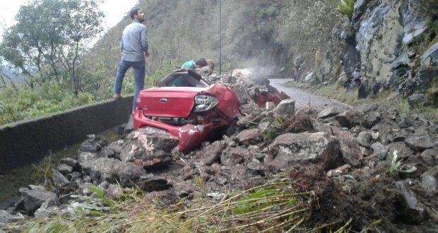 Serra do Rio do Rastro é interditada após deslizamento de terra e rochas | Portal Timbó Net
