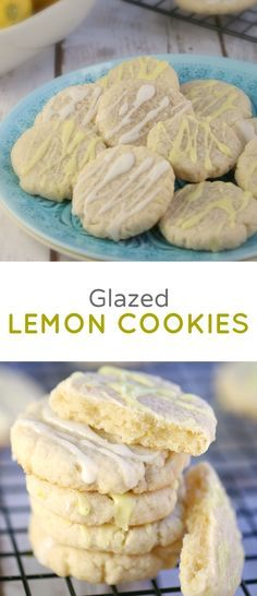 I love the mild lemon taste of these Glazed Lemon Cookies, they aren't too heavy or rich, yet simple and so delicious- a great classic treat for Springtime and the Easter holiday.