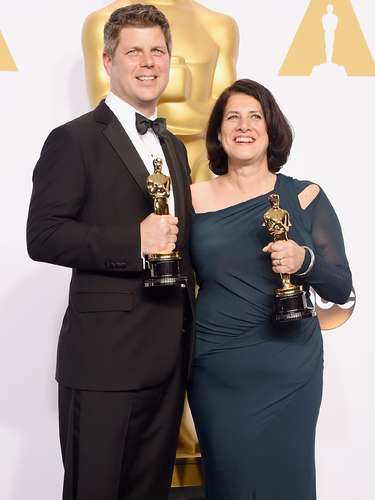 Adam Stockhausen and Anna Pinnock won the Academy Awards for Best Production Design for the film The Grand Budapest Hotel in 2015.