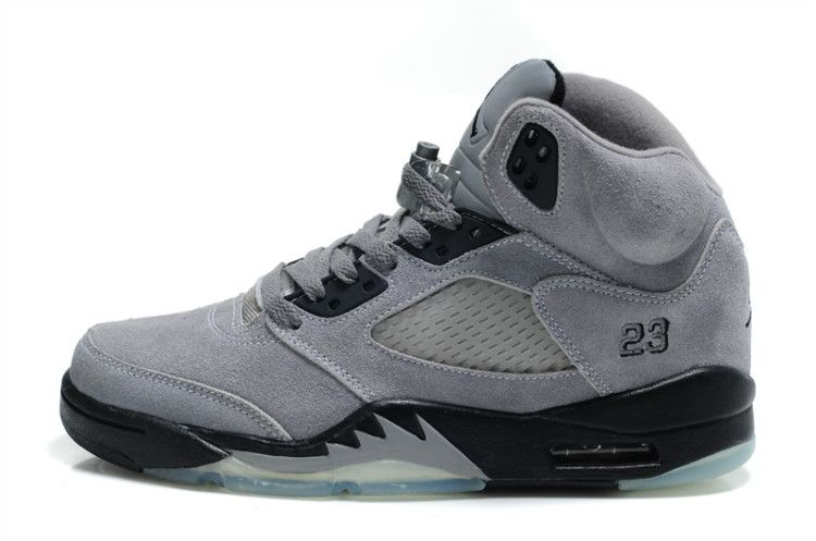 14a4872d3df Air Jordan 5 Retro Suede Cool Grey Black in 2019