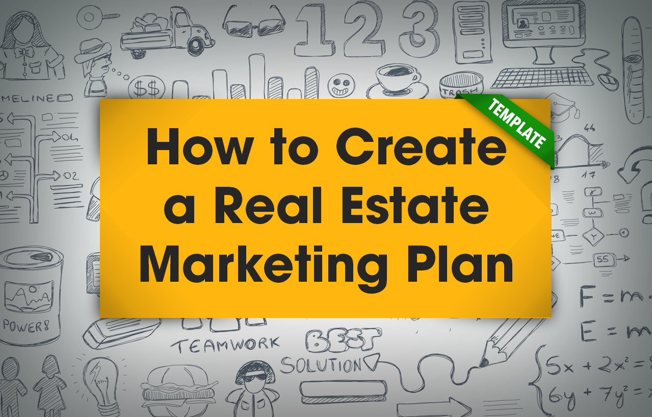 Use This *free Real Estate Marketing Plan Template* And Tips For  Estimating, Managing