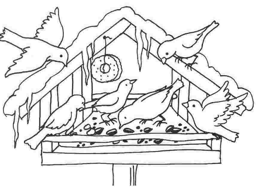 ausmalbilder winter malvorlagen f r kinder coloring. Black Bedroom Furniture Sets. Home Design Ideas