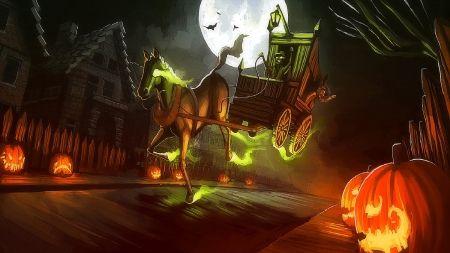 digital art halloween - Google Search
