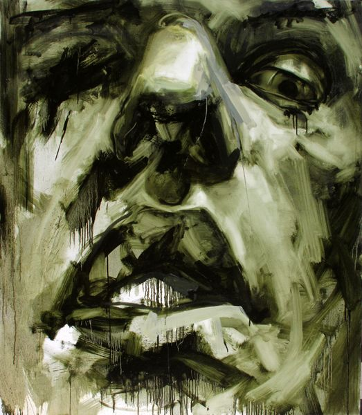 """belenyi szabolcs- """"victim"""", Painting, oil on canvas, 2010"""