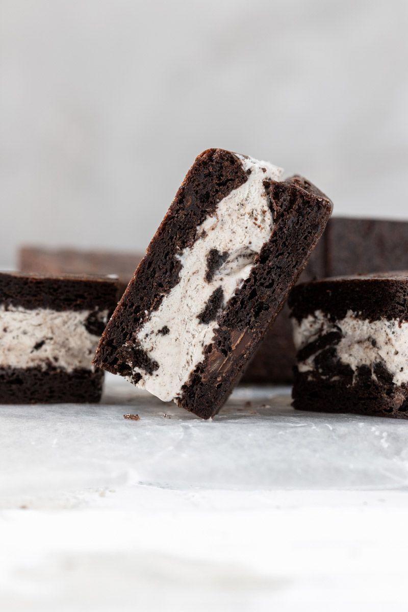 Oreo Ice Cream Sandwich Recipe In 2020 Oreo Ice Cream Sandwich Oreo Ice Cream Ice Cream Sandwich