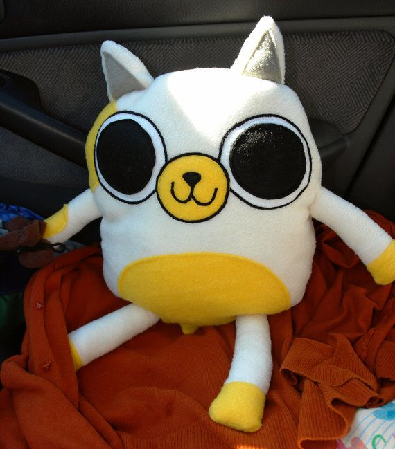 Cake the Cat Adventure time Plush toy w/ nip by ...