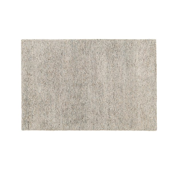10x14 Parker Neutral Wool Shag Rug Reviews Crate And Barrel Wool Shag Rug Rugs Neutral Rugs
