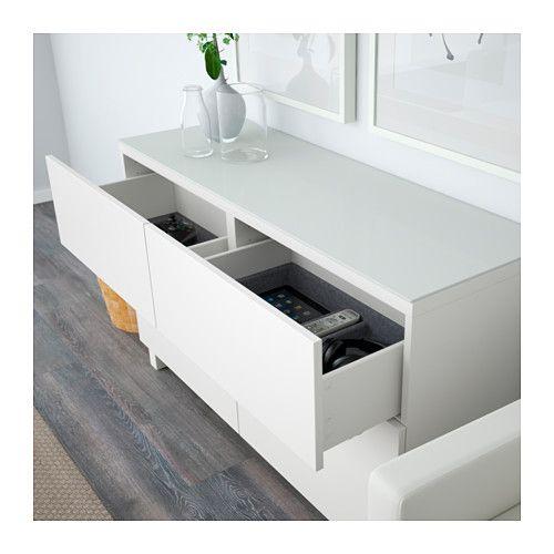 f r flur oder schlafzimmer best aufbewahrung mit schubladen lappviken wei schubladenschiene. Black Bedroom Furniture Sets. Home Design Ideas