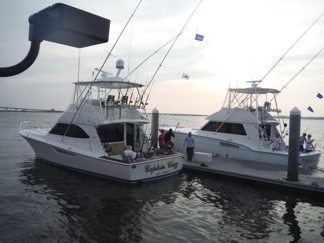Ocean city marlin tuna club boats fishing the annual