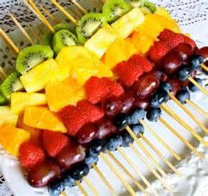 fruit skewers with mint - Bing Images