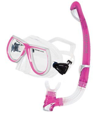 Body Glove Women s EVX Combo Mask and Snorkel Set for Snorkeling or Scuba  Diving - http c314ad6ec2