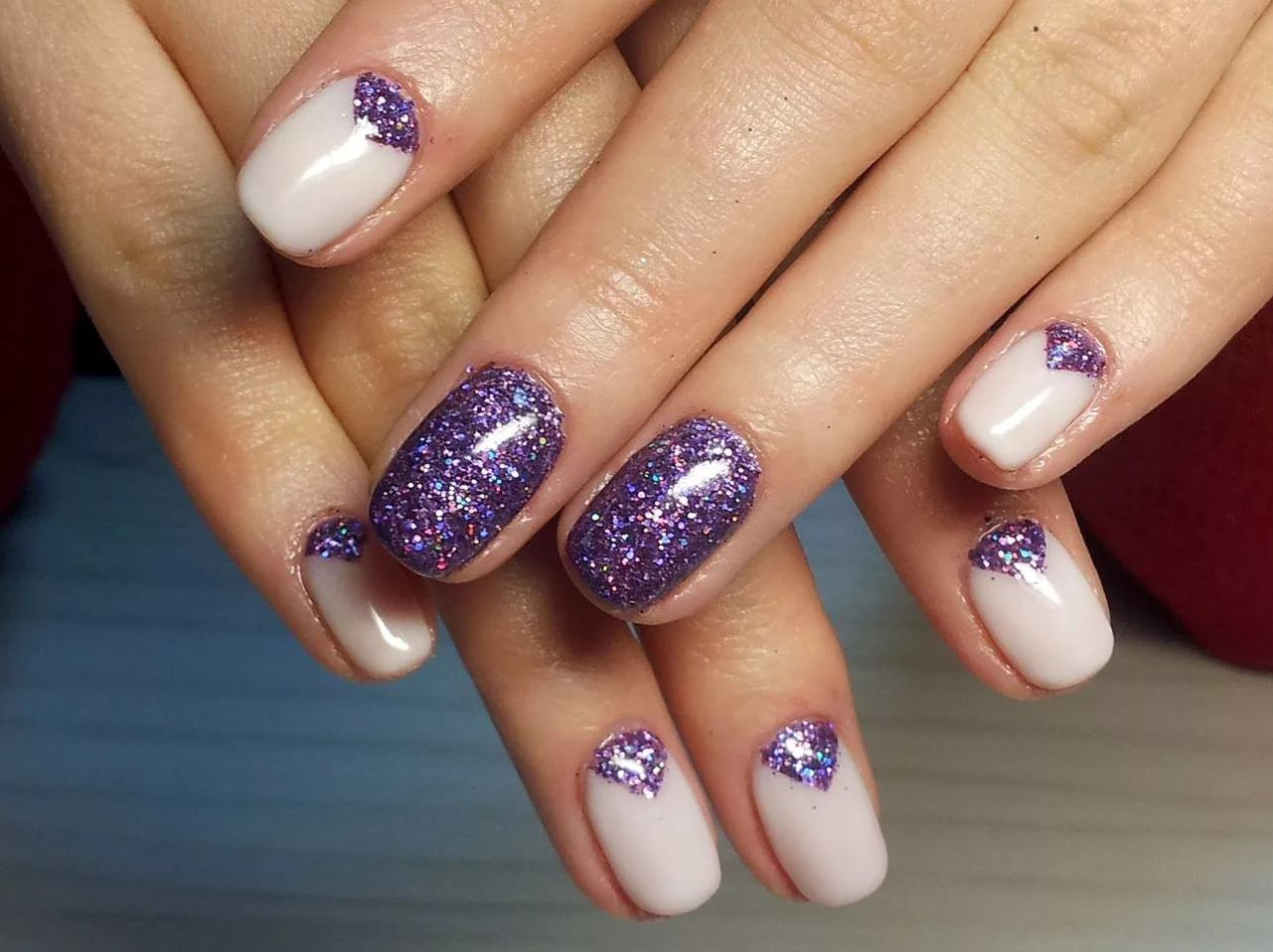 Nail Art #3851 - Best Nail Art Designs Gallery   Moon nails, Color ...