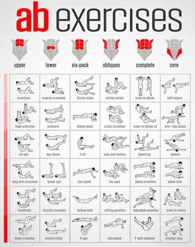 v line exercises