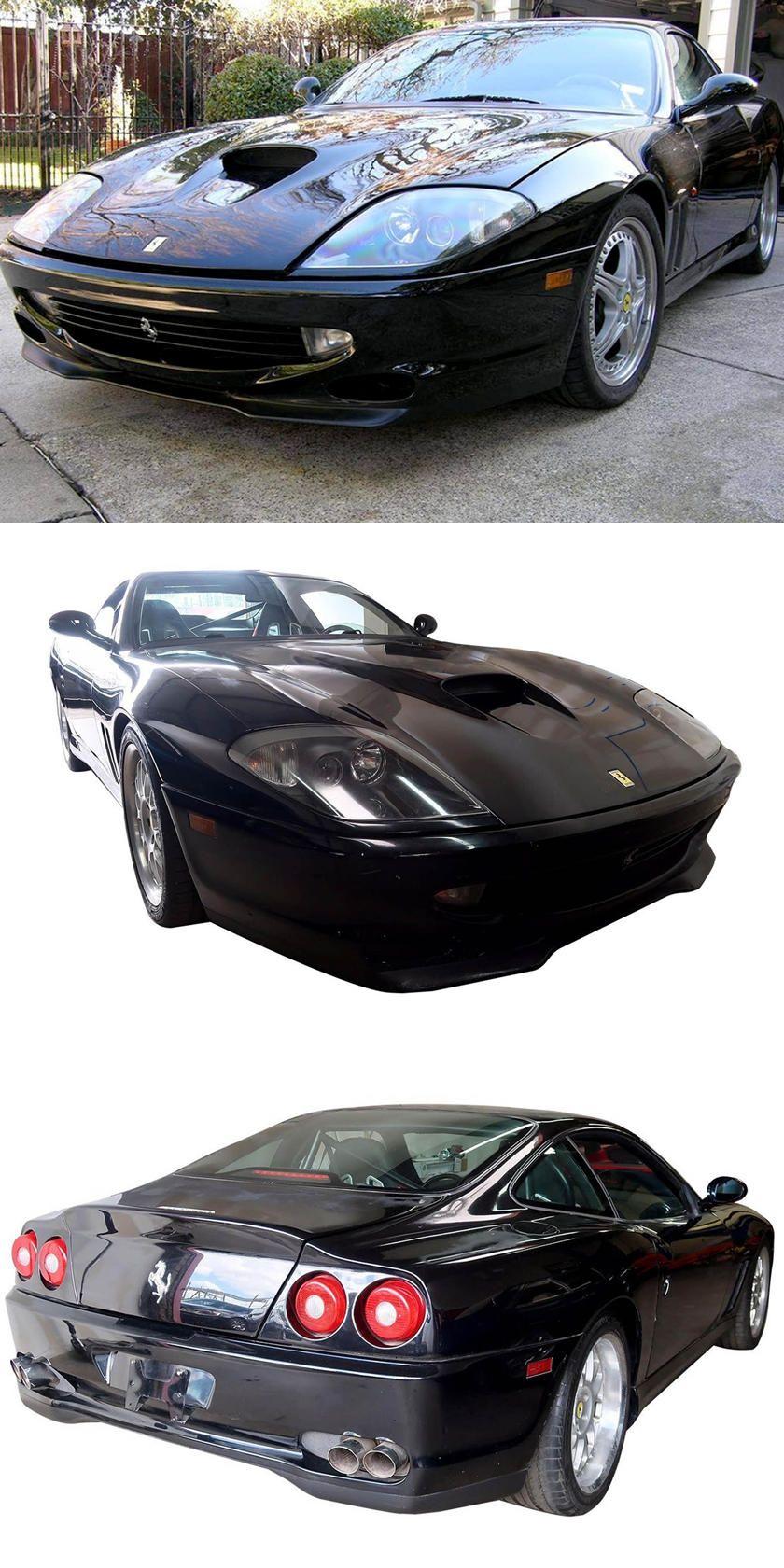 Van Halen S Custom Ferrari 550 Race Car For Sale It Could Fetch Up To 200000 In 2020 Ferrari Cars For Sale Car