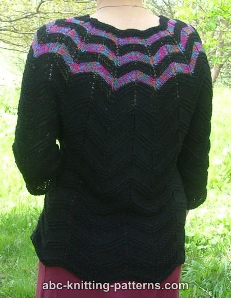 Free Sweater Knitting Pattern Stuff I Want To Make Pinterest
