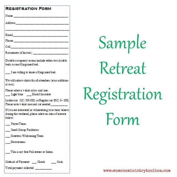 Event Registration Form Template Word Cool Tip 14  Creating Registration Forms  Pinterest  Registration Form .