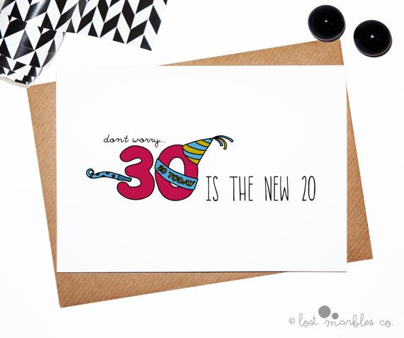 30th birthday card funny birthday card joke birthday card 30th birthday card funny birthday card joke lostmarblesco bookmarktalkfo Image collections