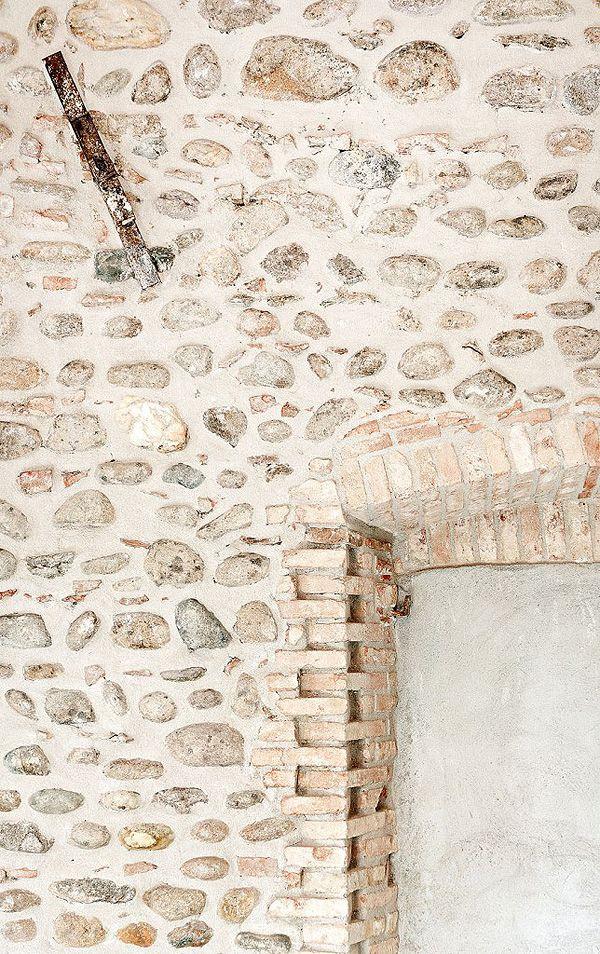 muro de PIEDRA - stone walls paredes piedritas Pinterest Muro