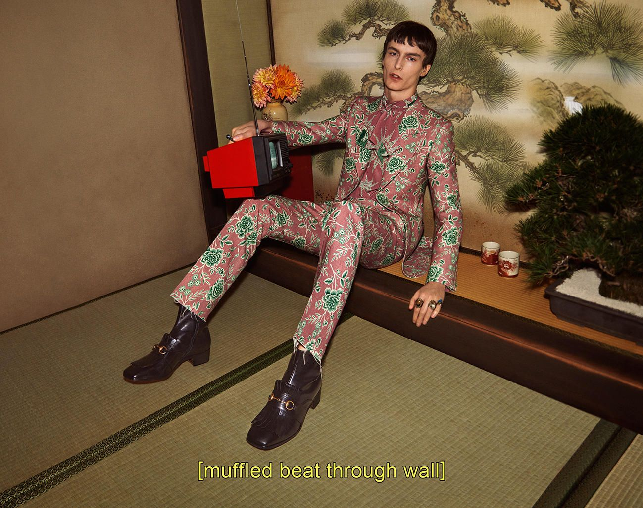 1ea80917c3c Gucci Goes Full  Lost in Translation  for Fall 2016 Ad Campaign ...