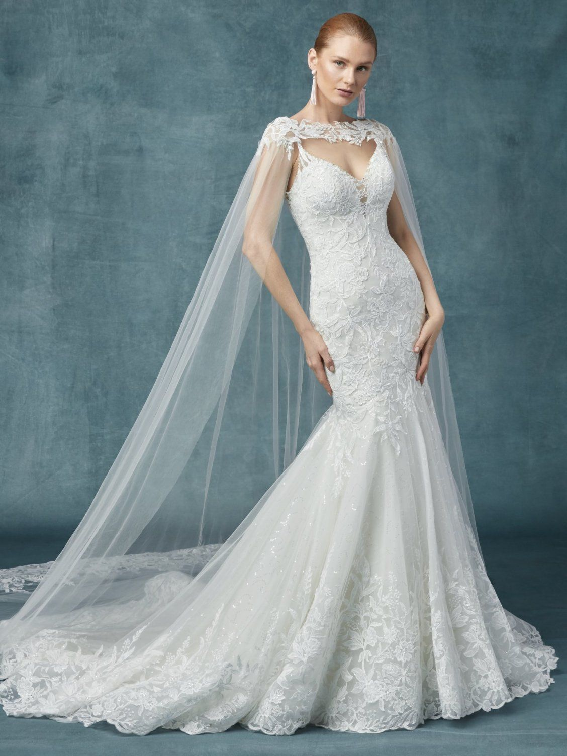 a62cdc293fb94 ... wedding gown!  Sapphire by  MaggieSottero is so regal