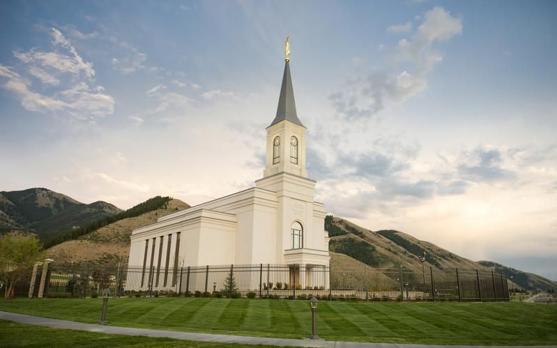 Star Valley Wyoming Temple Star Valley Wyoming Star Valley Temple