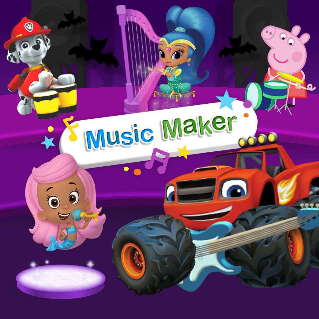 Nick Jr. Music Maker (Halloween 2017) Nick jr games