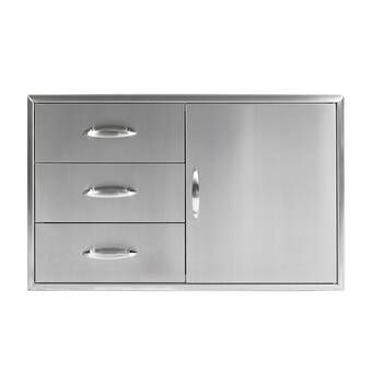 Drop In Drawer Drawers Outdoor Kitchen Stainless Steel Spice Rack