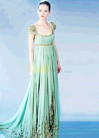 Empire Waste Gown
