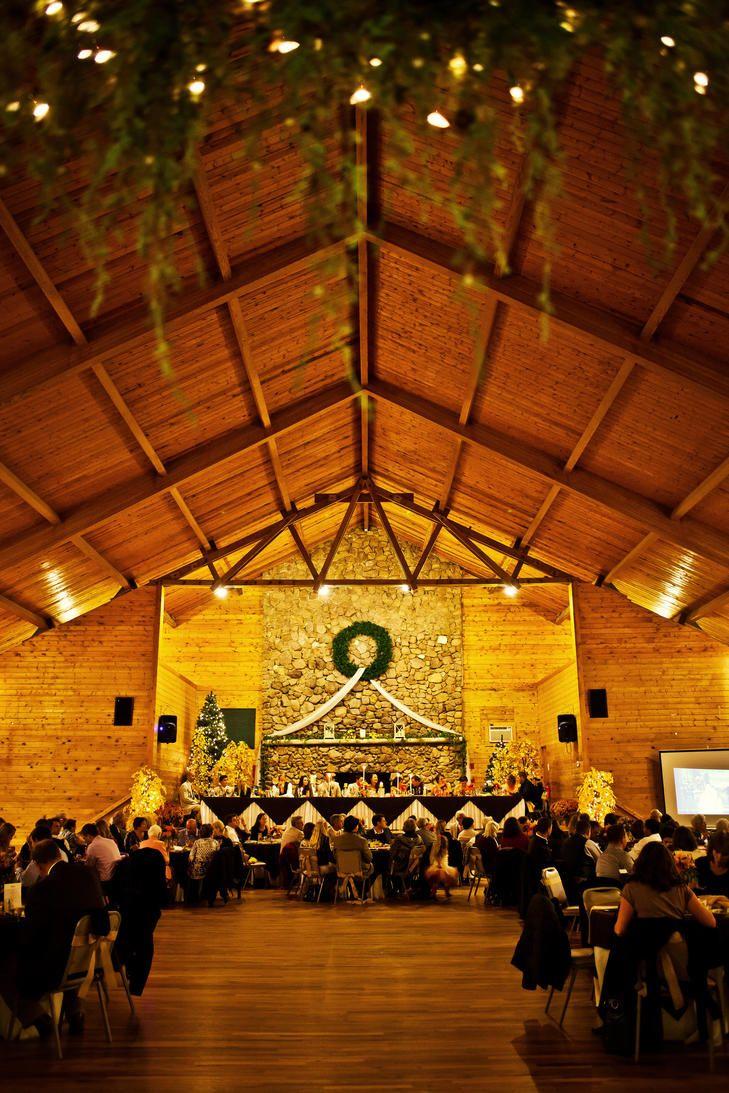 Historic Pinecrest Wedding Reception   Photo: Sara Joy Photography