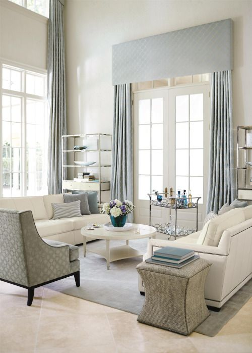 The right sofa, sectional, and media consoles underpin the style of your living room. Once you have the seating and storage taken care of, it's time to think about the supporting players. Here are some examples of how to add style and function to your living room with accent tables from Bernhardt Furniture.