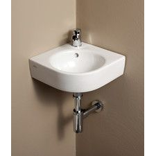 Exceptionnel Elements Comprimo Corner Bathroom Sink