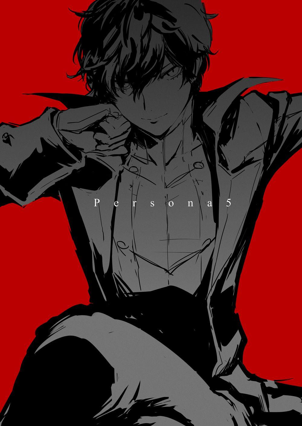 ペルソナ5 ぺごろぐ02 芳崎のイラスト in 2020 Persona 5, Persona 5