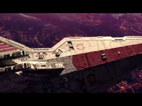 Battle Of Coruscant Opening 1080p Youtube Star Wars Ships Star Wars Star Destroyer