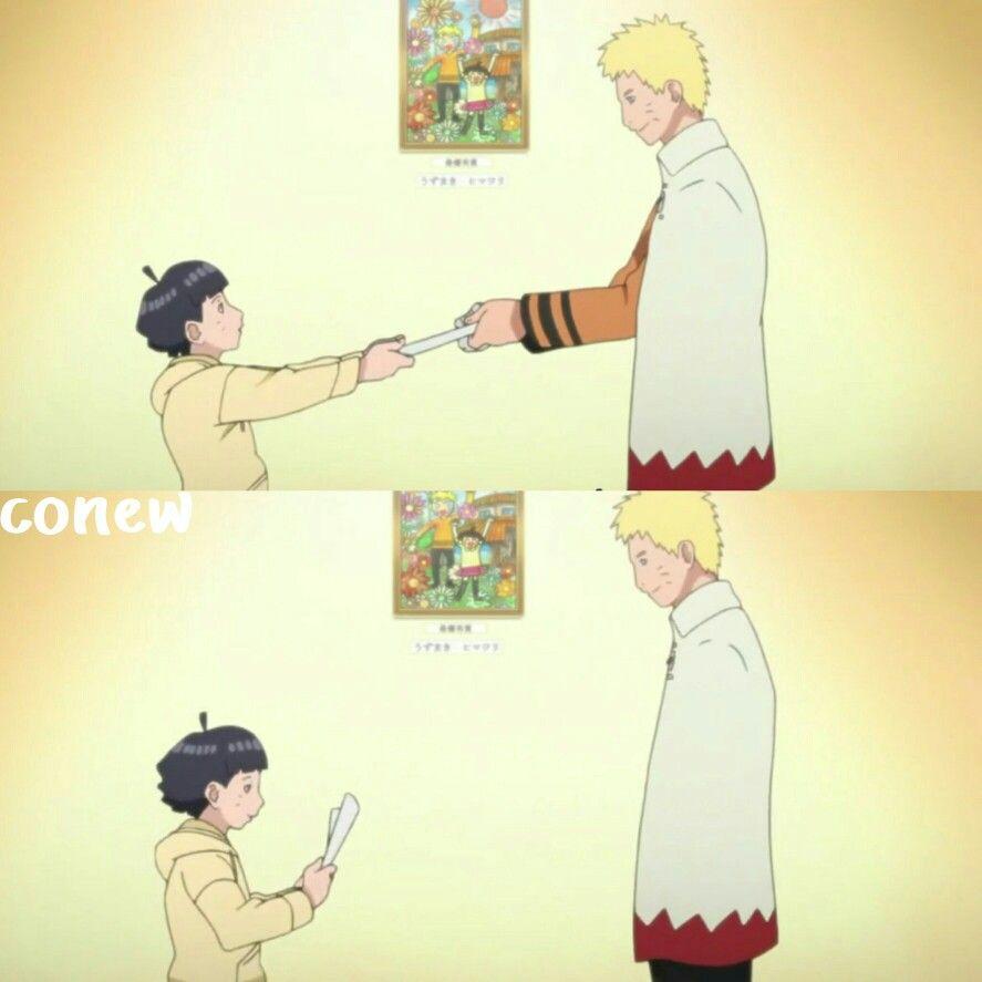 Congratulations Himawari Chan Himawari Naruto Sakura And Sasuke Naruto Boruto