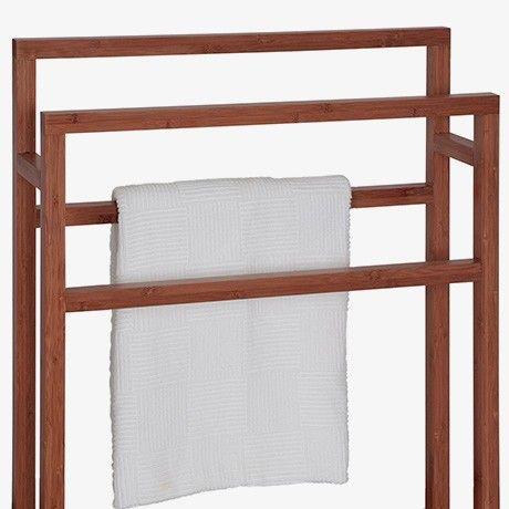 Handtuchhalter - Bambus von Wireworks MONOQI Bad Pinterest - badezimmer accessoires holz