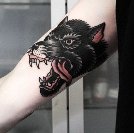 Photo of 56 Trendy Tattoo Wolf Old School Wolves American Traditional