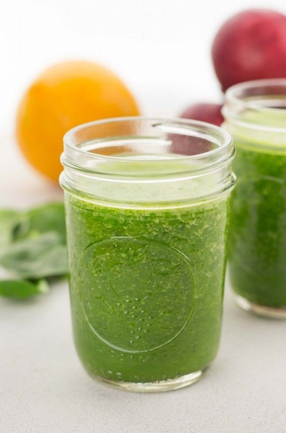 #Healthy #Recipe / Green Juice Shooters - The Table