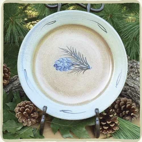 Pinewood Dinner Plate