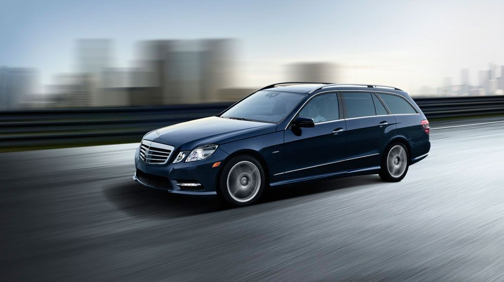 E350 4matic Sport Wagon In Capri Blue Metallic The 2012 Mercedes