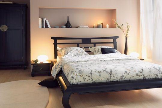 Id e d co chambre feng shui chambre coucher design for Decoration feng shui chambre