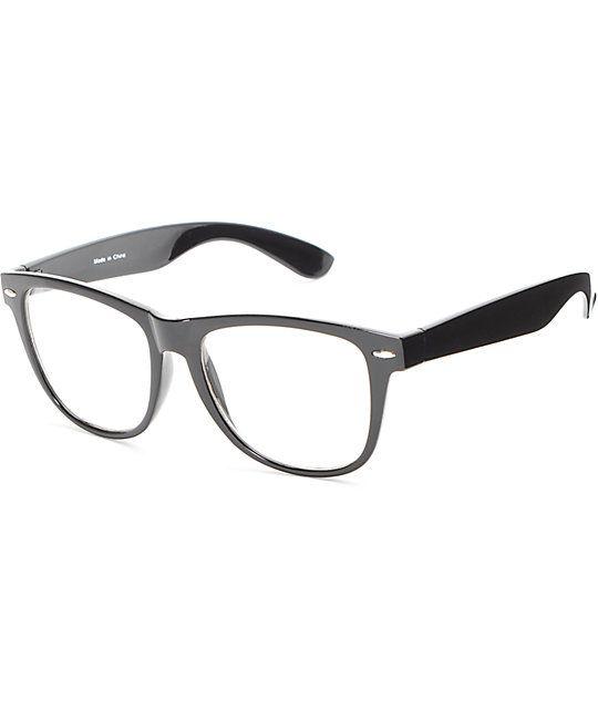 957f951f3d07 Empyre Lenny Black Clear Glasses   ZUMIEZ   Sunglasses, Cheap ...