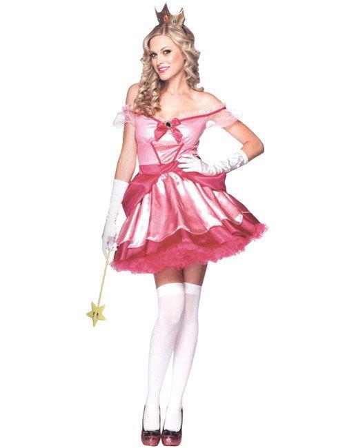 m rchen prinzessin damen kost m pink costumes. Black Bedroom Furniture Sets. Home Design Ideas