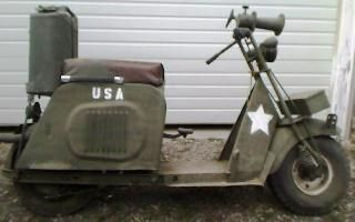 Crushman Military Scooter | Military Scooter Ideas | Pinterest